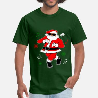 Ju Ju Black Santa Ju Ju Dance - Men's T-Shirt
