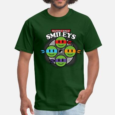 Ninja Smiley Mutant Ninja Smileys V1 (dd print) - Men's T-Shirt
