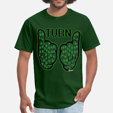 Turn Up Juicy J TurnUp Mickey Mouse Dope Hands | WIZ KHALIFA - Men's T-Shirt