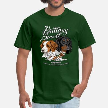 Brittany brittany_spaniel - Men's T-Shirt