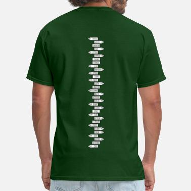 Donegal ireland_counties5 - Men's T-Shirt