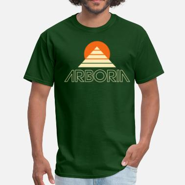 Beyond Beyond the Black Rainbow: Arboria Logo - Men's T-Shirt