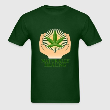 natural healing - Men's T-Shirt