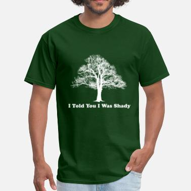 3-some Funny Shady Tree Men's Forest Green T-Shirt - Men's T-Shirt