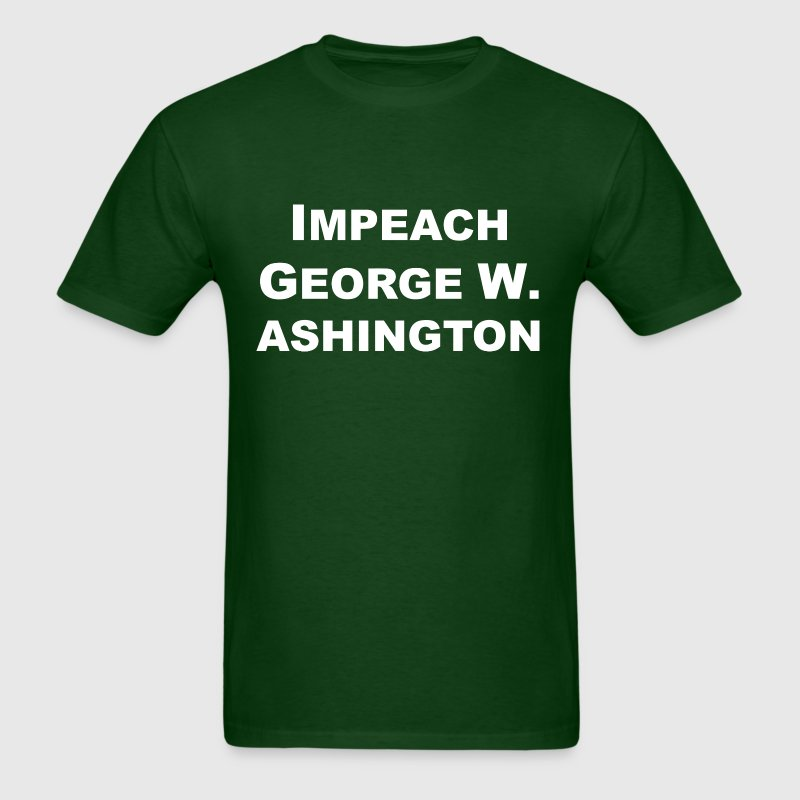 Impeach George W. Ashington - Men's T-Shirt