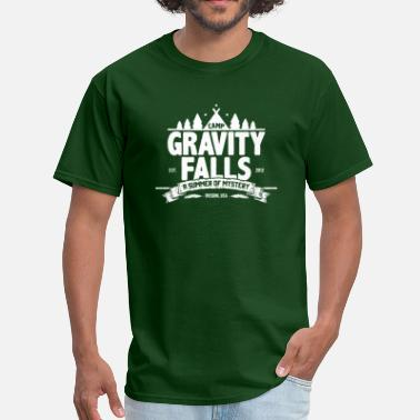 Gravity Camp Gravity Falls - Men's T-Shirt