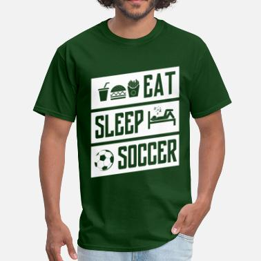 Eat Sleep Sell eat sleep soccer - white - Men's T-Shirt