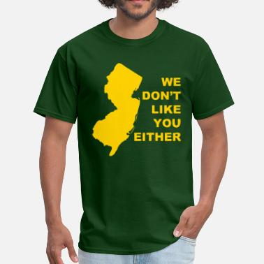 State Motto NJ Motto - Men's T-Shirt