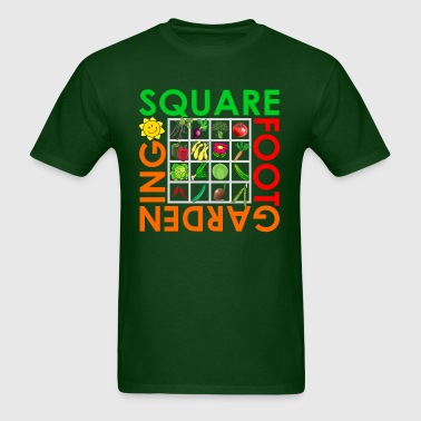 Square Foot Gardening - Men's T-Shirt