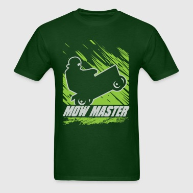 Lawnmower Race Mow Master - Men's T-Shirt