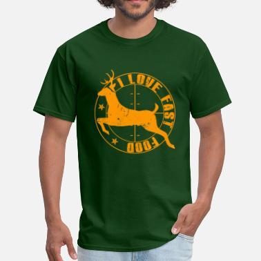 79024d2c373 John Deere Funny i love fast food - Men  39 s T-Shirt
