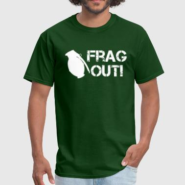 Frag Grenade Frag Out Grenade - Men's T-Shirt