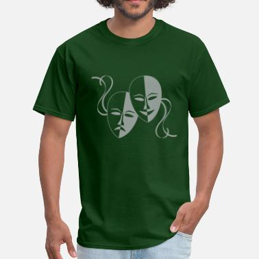 Theater theatre_masks - Men's T-Shirt