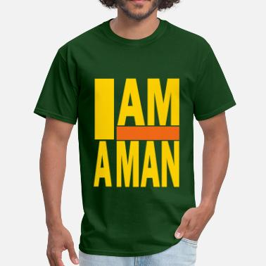 Fight Socialism I AM A MAN - Men's T-Shirt