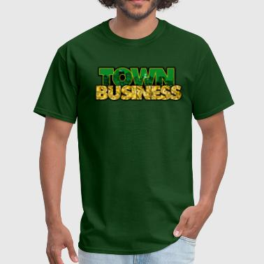 Oakland Sports TOWN BUSINESS OAKLAND A'S EDITION - Men's T-Shirt