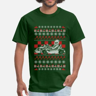 Go Karts Racing Go Kart Racing Christmas - Men's T-Shirt