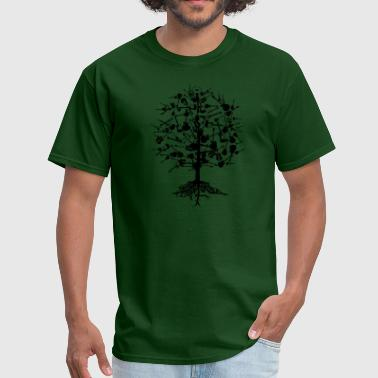 Guitars Tree American Apparel T-Shirt - Men's T-Shirt