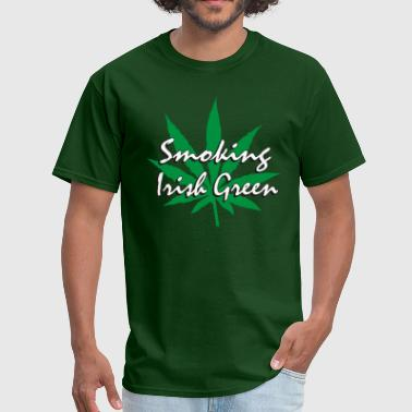 Smoking Irish Green - Men's T-Shirt
