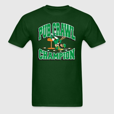 Irish Pub Craw Champion - Men's T-Shirt