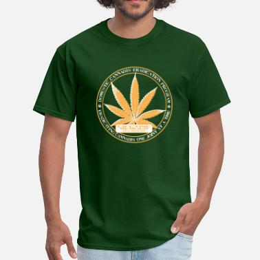 Eradicate Domestic Cannabis Eradication Program Tee - Men's T-Shirt