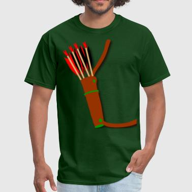 Archery quiver design by Patjila2 - Men's T-Shirt