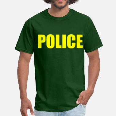 Police Or Fbi Agent Or Us Marshal Police (3) - Men's T-Shirt