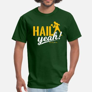 Aaron Rodgers HAIL YEAH! - Men's T-Shirt