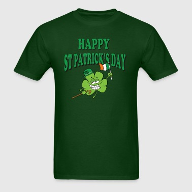 Happy St Patrick's Day - Men's T-Shirt