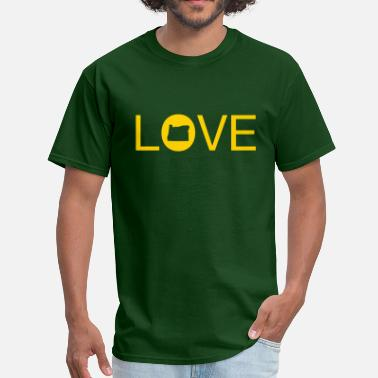 Love Oregon Oregon Love - Men's T-Shirt