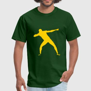 Bolt Pose Usain Bolt - Men's T-Shirt