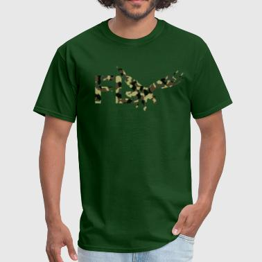 R&b Apparel FLY Eagle Camo - Men's T-Shirt
