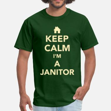 Janitor Funny Janitor - Men's T-Shirt
