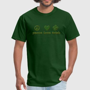 Peace Love Irish - Men's T-Shirt
