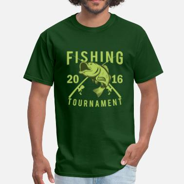 Bass Tournament Fishing Tournament 2016 - Men's T-Shirt