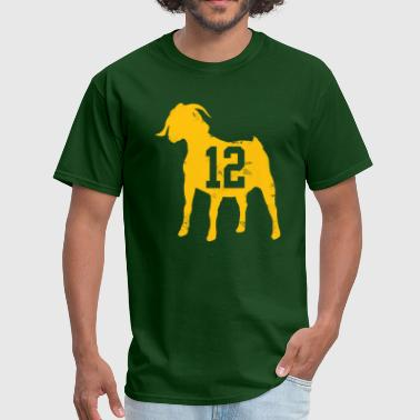 Aaron Rodgers GOAT - Men's T-Shirt