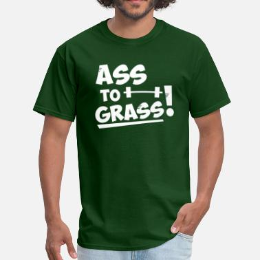 Ass to grass - Men's T-Shirt