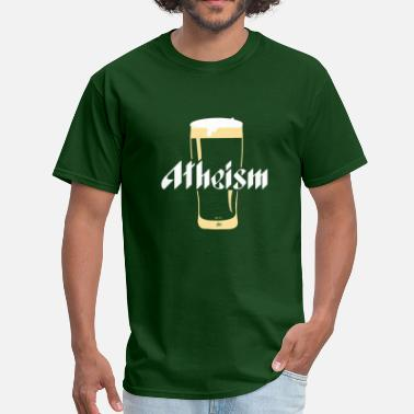 Chi Here's to Atheism by Tai's Tees - Men's T-Shirt