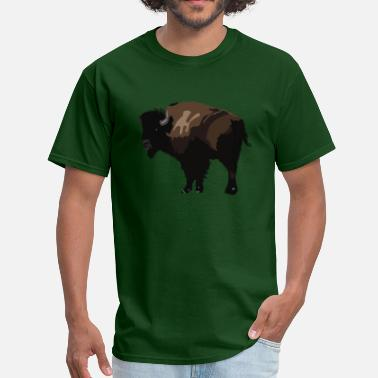 Bison Bison Bison - Men's T-Shirt