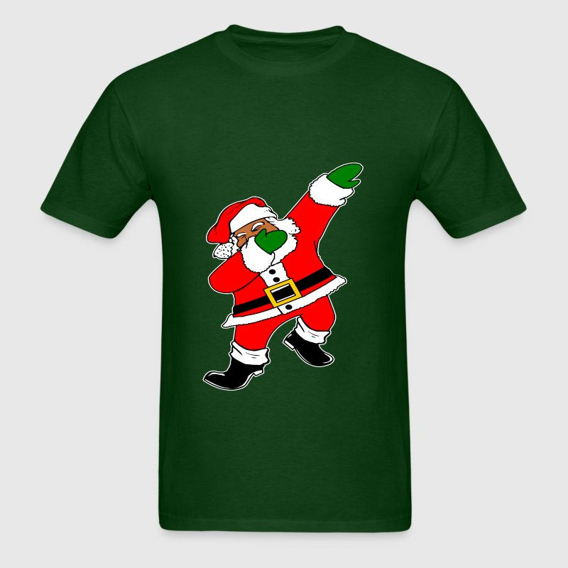 Dab Black Santa Claus - Men's T-Shirt