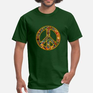 Americana Music 70's Hippie - Men's T-Shirt