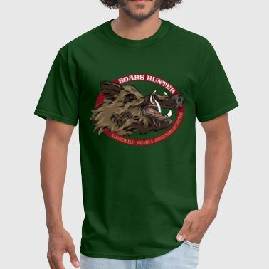 boars_hunter - Men's T-Shirt