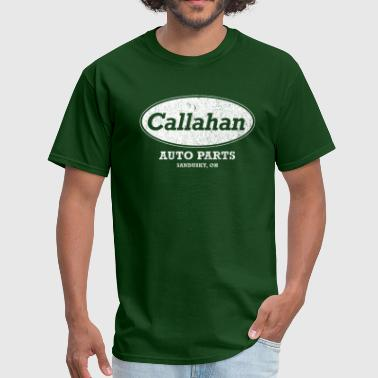 Sandusky Vintage Callahan Auto Parts - Men's T-Shirt