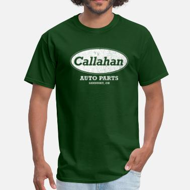 Stick Up Your Ass Vintage Callahan Auto Parts - Men's T-Shirt