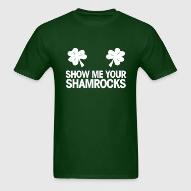 shoe me your shamrocks - Men's T-Shirt