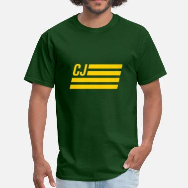 CJ flag - Autonaut.com - Men's T-Shirt