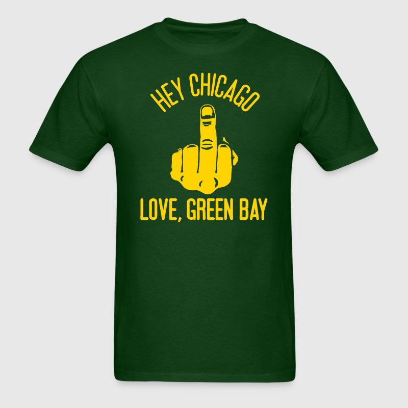 Love, Green Bay - Men's T-Shirt