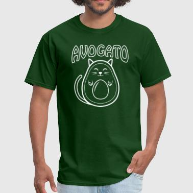 Cute Avogato (white) - Men's T-Shirt