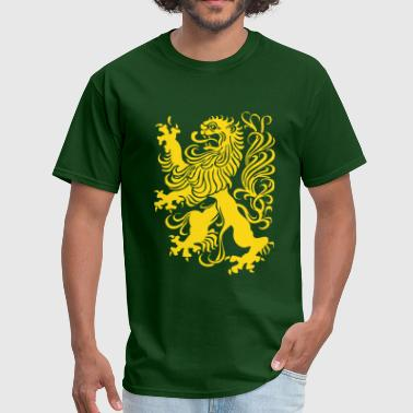 royal lion design - Men's T-Shirt