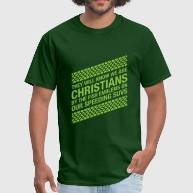 We Are The Christian Left We Are Christians - Men's T-Shirt