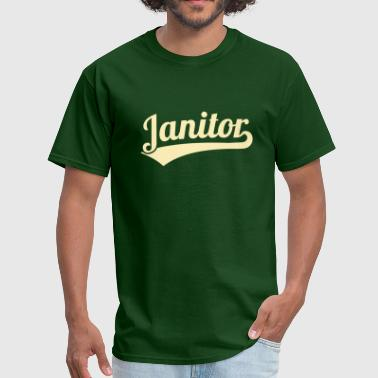 Janitors Janitor - Men's T-Shirt